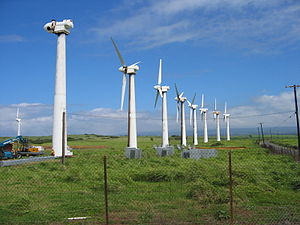 Ka Lae - Old Kamaoa wind farm at South Point