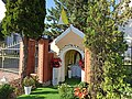 Kapliczka przydrożna III (Wolności 75), Lubrza 2020.07.01 02.jpg