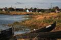 Karjala paat Tširka-Kemi jõe kaldapealsel.jpg