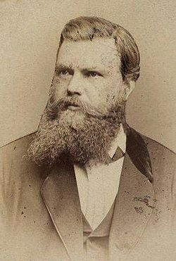 Karl Mauch in 1875