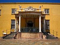 Kat balkon Kasteel van Goede Hoop Kaapstad.JPG