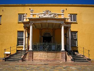Anton Anreith - Kat Balcony, Castle of Good Hope