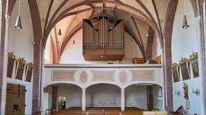 Katholische Pfarrkirche Mariä Himmelfahrt Kirchdorf am Inn 06 Empore.png