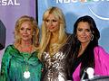 Kathy Hilton, Paris Hilton and Kyle Richards at NBC party at TCA.jpg