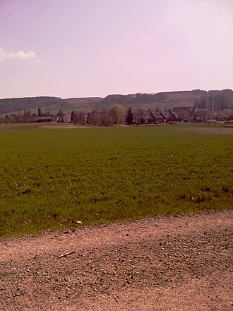 Gachnang - Farm land in Kefikon village
