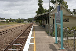 Kendall, New South Wales - Kendall railway station