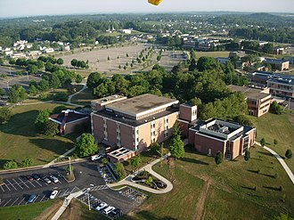 Kent State University at Stark - Aerial view of Kent State University at Stark