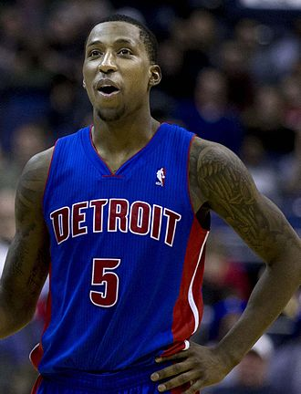 2013 NBA draft - Kentavious Caldwell-Pope was selected eighth by the Detroit Pistons.