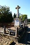 foto van Begraafplaats Elisabethstraat: grafmonument van J.A. van de Ven (1800-1866) en diens echtgenote C.M.T. van den Eijnden (1825-1870)