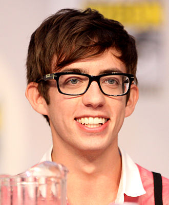 Artie Abrams - Kevin McHale (pictured) plays Artie Abrams on Glee.