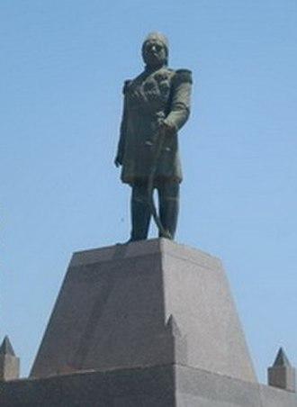 Isma'il Pasha - Isma'il Pasha Statue in Alexandria, Egypt