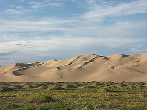 Khongoryn Els - Khongoryn Els sand dunes