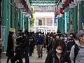 Kichijoji Sun Road shopping street with stay-at-home advisory.jpg