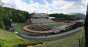 Kidd Brewer Stadium - Image: Kidd Brewer Stadium(Panorama From SE)