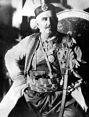 Albanian revolt of 1911 - Nicholas I of Montenegro inspired and supported the rebellion