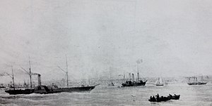 SS King Orry (1842) - Image: King Orry, Mona's Queen & Tynwald