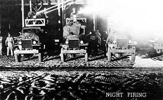Kingman Airport (Arizona) - Night gunnery training, 1944