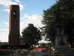 Bathurst, New South Wales - Kings Parade, Carillon Memorial and Evans Memorial