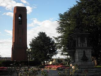 Bathurst, New South Wales - Kings Parade, Carillon Memorial and Evans Memorial