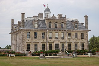 Kingston Lacy - The south and west sides of Kingston Lacy house