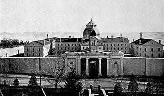Kingston Penitentiary - Kingston Penitentiary, c. 1901