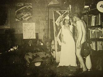 Ernst Ludwig Kirchner - Kirchner's Berlin studio in 1915