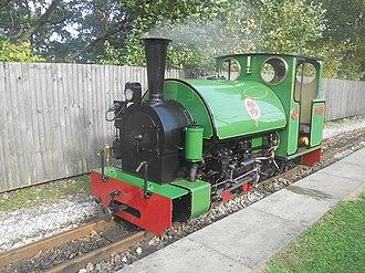 Kirklees Light Railway - Image: Kirklees Light Railway Badger Clayton West