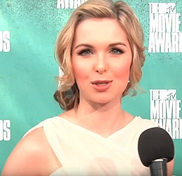 Kirsten Prout at MTV Movie Awards 2012.jpg
