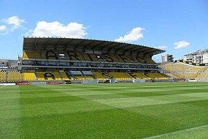 Kleanthis Vikelidis Stadium - Image: Kleanthis Vikelidis Stadium 2011