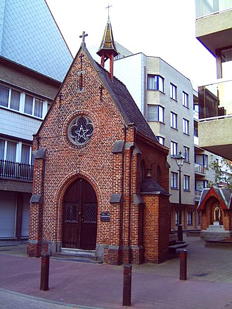 Knokke-Heist - Chapel of the fishermen in Heist