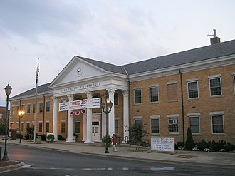 Barbourville, Kentucky - Knox County Courthouse in Barbourville