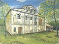 Kobrin - synagogue 1963 Anatoly Nalivaev.jpg