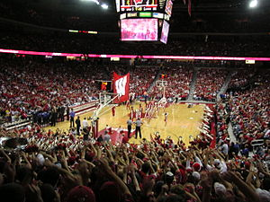 Wisconsin Badgers - Men's basketball at the Kohl Center