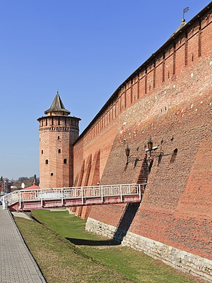 Zasechnaya cherta - Kolomna Kremlin was built as part of the Great Abatis Border in 1525-31.