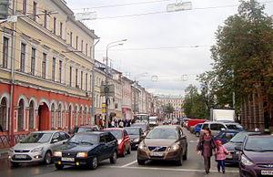 Komsomolskaya Street, Yaroslavl