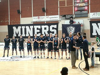 Kongsberg Miners - The Miners team in its 2017–18 championship season
