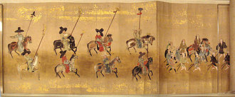 Joseon Tongsinsa - Impression of Joseon Tongsinsa mission in Japan – attributed to a Kanō school artist, circa 1655