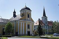 Kostel sv. Jiljí (Chropyně), nám. Svobody, Chropyně 1.jpg