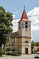 Kostel svatého Vojtěcha Libice nad Cidlinou.JPG