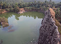 Kovalam, old quarry turned pond.jpg