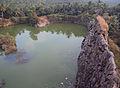 Kovalam, old quarry turned pond.jpg