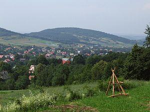 West-Beskidian Piedmont - Image: Krowia Góra BM1