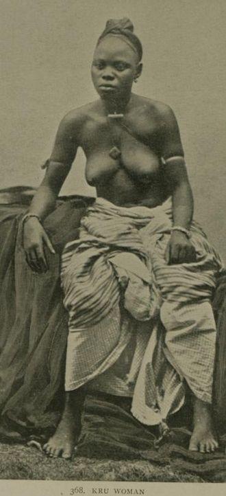 Kru people - Image: Kru Woman 2