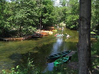Masurian Lake District - Kayaking on the Krutynia River
