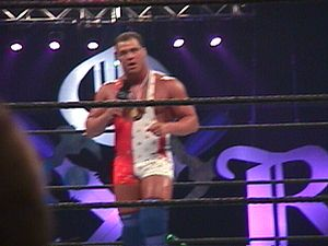 Kurt Angle - Angle at King of the Ring in 2000 – a tournament he eventually won