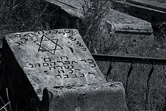 History of the Jews in Georgia - Old Jewish cemetery in Kutaisi