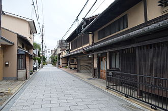 Nishijin - Daikoku-cho in Nishijin, Kyoto