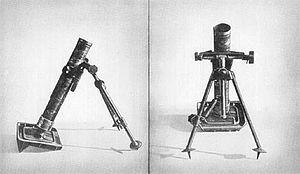 Kz 8 cm GrW 42 - Image: Kz 8cm gr w 42 short mortar