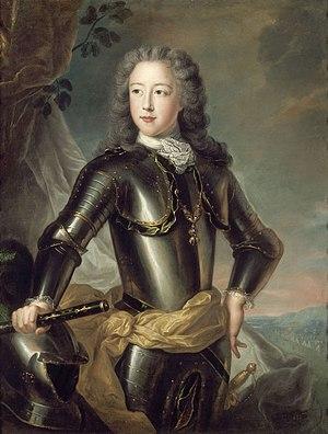 Léopold Clément, Hereditary Prince of Lorraine - Portrait by Pierre Gobert, c.1722