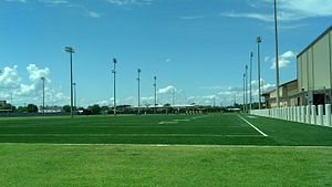 Charles McClendon Practice Facility - LSU Outdoor Practice Fields